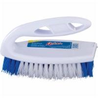 Quickie  Original Iron  4 in. W Plastic  Scrub Brush - Case Of: 1;