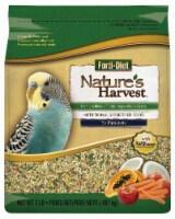 Nature's Harvest Forti-Diet Blend For Parakeets