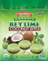 Jennies® Organic Key Lime Coconut Bites with Dark Chocolate - 5.25 oz