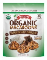 Jennies Organic Chocolate Drizzle Macaroons - 5.25 oz