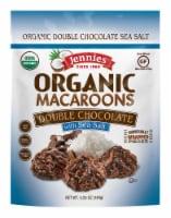 Jennies Organic Double Chocolate Sea Salt Macaroons - 7 ct / 0.75 oz