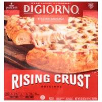 DIGIORNO Italian Sausage Frozen Pizza on a Rising Crust