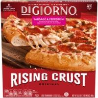 DiGiorno Original Rising Crust Sausage & Pepperoni Pizza