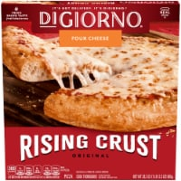 DIGIORNO Four Cheese Frozen Pizza on a Rising Crust
