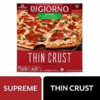 DiGiorno Original Thin Crust Supreme Frozen Pizza - 24.8 oz