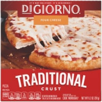 DiGiorno, Traditional Crust Four Cheese Pizza, 6.5 inch, 9.2 oz. (10 count) - 10 Count