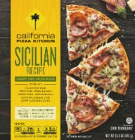 California Pizza Kitchen Sicilian Recipe Crispy Thin Crust Frozen Pizza