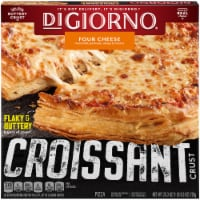 DIGIORNO Four Cheese Frozen Pizza on a Croissant Crust