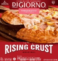 DIGIORNO Hawaiian Style Frozen Pizza on a Rising Crust
