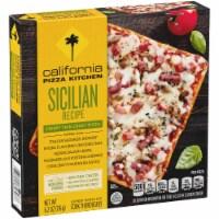 California Pizza Kitchen Sicilian Recipe Crispy Thin Crust Pizza