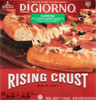 DIGIORNO Supreme Frozen Pizza on a Rising Crust