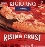 DIGIORNO Pepperoni Frozen Pizza on a Rising Crust