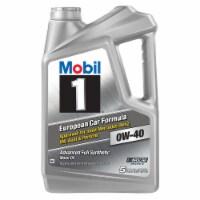 Mobil 1 0W-40 European Car Formula Advanced Full Synthetic Motor Oil - 5 qt