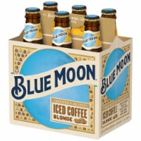 Blue Moon Iced Coffee Blonde Wheat Ale Beer