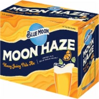 Blue Moon® Moon Haze Juicy Pale Ale Beer - 12 cans / 12 fl oz