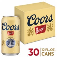 Coors Banquet Lager Beer 30 Cans