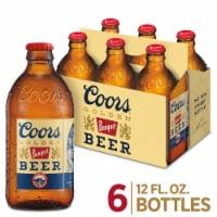 Coors Banquet Lager Beer - 6 bottles / 12 fl oz