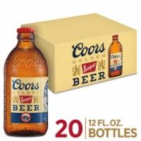 Coors Banquet Lager Beer 20 Bottles