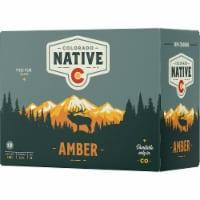 Colorado Native Amber Beer