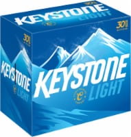 Keystone Light Lager Beer