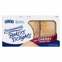 Entenmann's® Minis Cherry Snack Pies - 6 ct / 2 oz