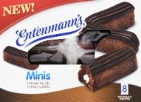 Entenmann's Minis Creme Filled Fudge Cakes