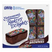 Entenmann's® Minis Sprinkled Iced Brownies - 8 ct / 2.13 oz