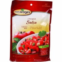 Mrs. Wages Salsa Tomato Mix 4 oz. 1 pk - Case Of: 12; Each Pack Qty: 1; - 1