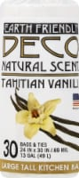 Deco Earth Friendly Natural Scent Fresh Lemon Large Tall Kitchen Trash Bags