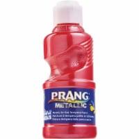 Prang Ready-to-Use Washable Metallic Paint - 8 fl oz - 1 Each - Metallic Red