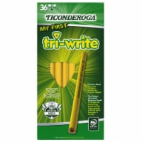 My First Tri-Write Primary Size No. 2 Pencils without Eraser, Box of 36 - 1