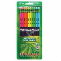Ticonderoga Neon #2 Sharpened Pencils