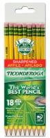 Ticonderoga Wood-Cased #2 Pencils - Yellow