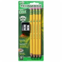 Ticonderoga My First Pencil 4-Pack with Sharpener