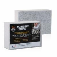 Better Grillin Scrubbin Stone Grill Cleaner-Scouring Brick/Barbecue Brush, 2pk - 2 Count