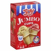 Joy Jumbo Ice Cream Cups 12 Count - 2.75 oz