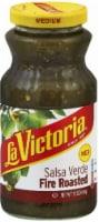 La Victoria Medium Fire Roasted Salsa Verde