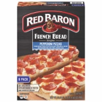 Red Baron Singles French Bread Pepperoni Pizzas