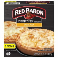 Red Baron Singles Deep Dish Cheese Pizzas 2 Count