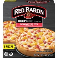 Red Baron Deep Dish Singles Hawaiian Style Pizza 2 Count