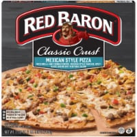Red Baron Classic Crust Mexican Style Pizza