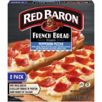 Red Baron Singles French Bread Pepperoni Pizzas 2 Count