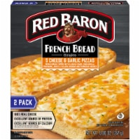 Red Baron Singles French Bread 5 Cheese and Garlic Pizza