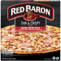Red Baron Thin and Crispy Bacon Lovers Pizza