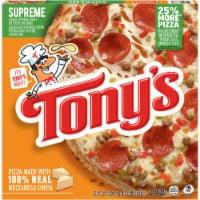 Tony's Pizzeria Style Supreme Frozen Pizza