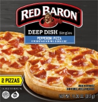 Red Baron Deep Dish Singles Pepperoni Pizzas