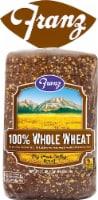 Franz Big Horn Valley 100% Whole Wheat Bread - 24 oz