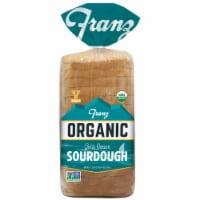 Franz Organic Gold Coast Sourdough Bread Thin Sliced Organic Sandwich Bread