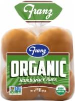 Franz Organic Hamburger Buns 8 Count