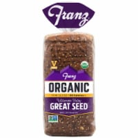 Franz Williamette Valley Organic Thin Sliced Great Seed Bread